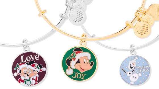 Make the Holidays Extra Charming With ALEX AND ANI from Disney Parks