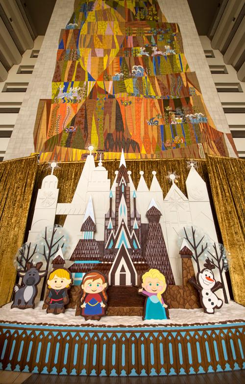 Fantastical Gingerbread Works of Art Across Walt Disney World Resort