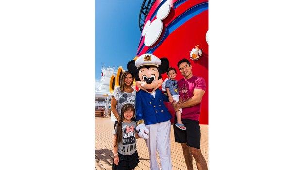 Mario Lopez and Family Explore Disney Cruise Line