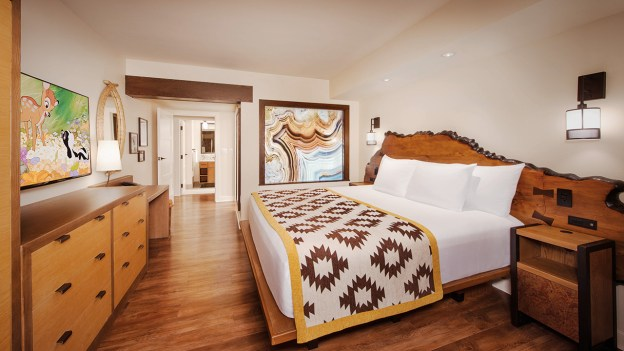 Choose from a Variety of Accommodations at Copper Creek Villas & Cabins at Disney's Wilderness Lodge