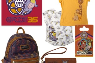Merchandise for 35th Anniversary of Epcot
