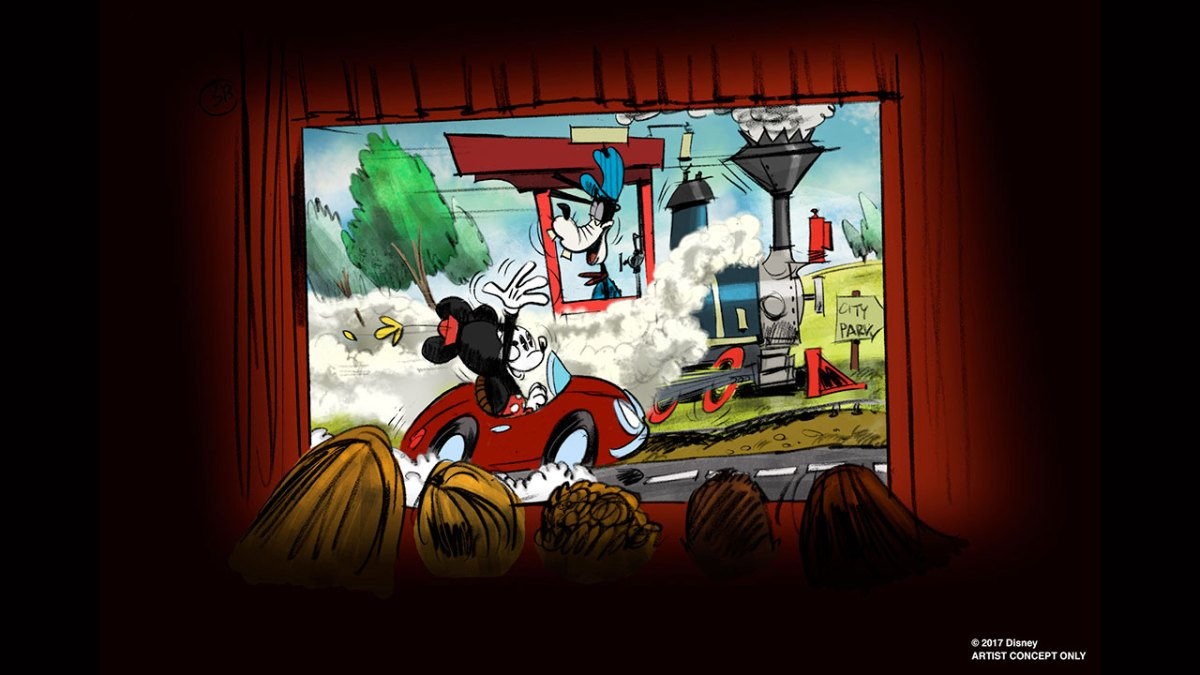 Content owned by Disney - New Mickey Mouse themed ride to replace the Great Movie Ride at Disney's Hollywood Studios in Walt Disney World Resort