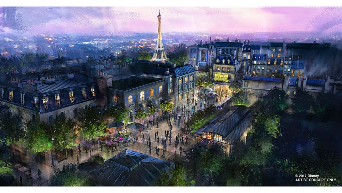 Content owned by Disney - New Ratatouille attraction coming to Epcot at Walt Disney World Resort