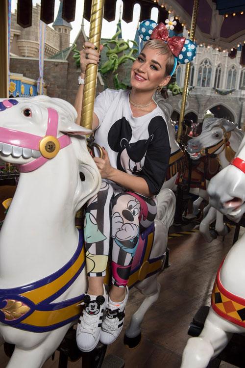 Katy Perry at Magic Kingdom Park