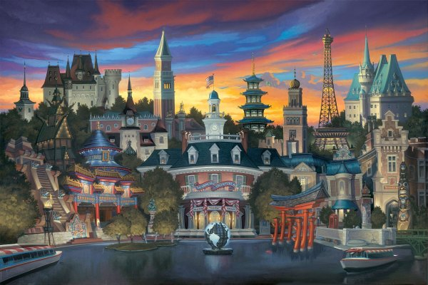 Disney Epcot Painting Arts Festival of the 2018