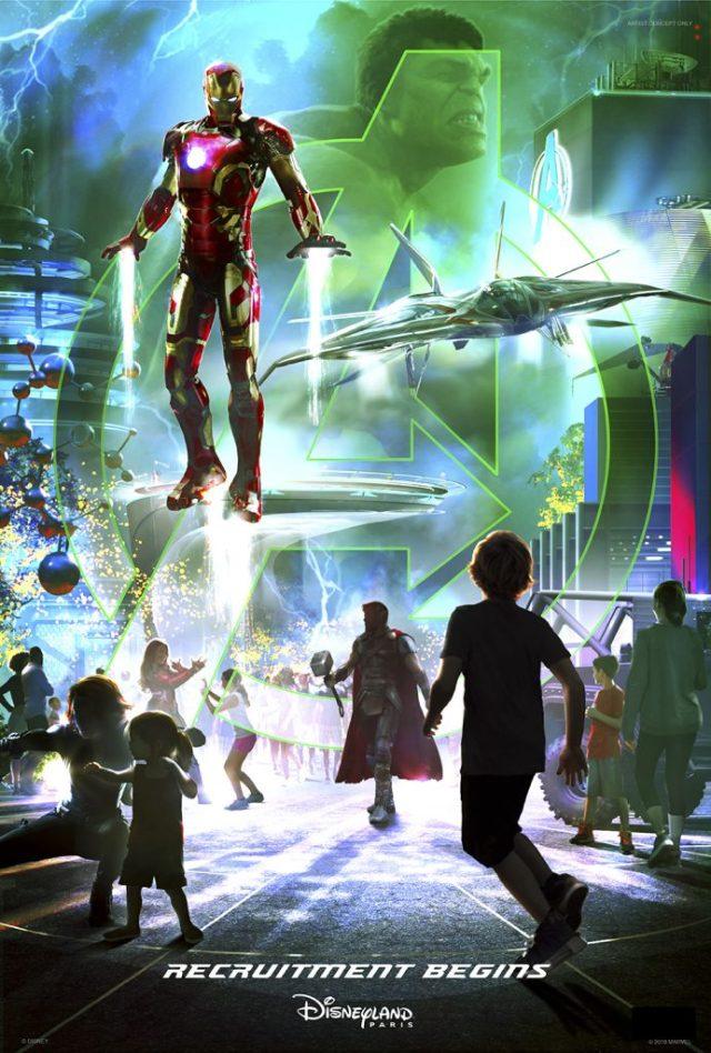 Disney Parks announces Marvel-ous plans for Disneyland Paris