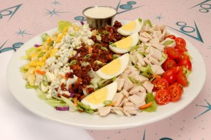 Cobb de Ville Salad at Flo's V8 Café at Disney California Adventure Park