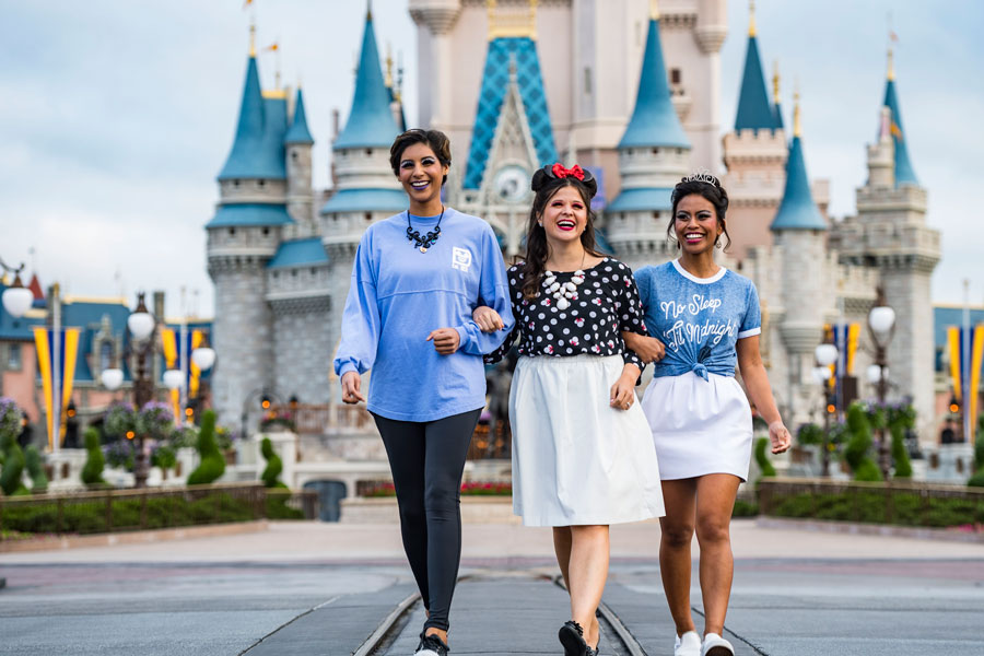 Character Couture Packages inspired by Minnie Mouse, Cinderella and Ursula