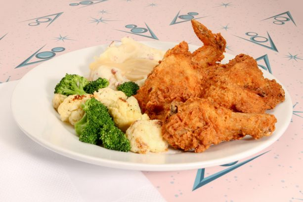 Flo's Famous Fried Chicken at Flo's V8 Café at Disney California Adventure Park