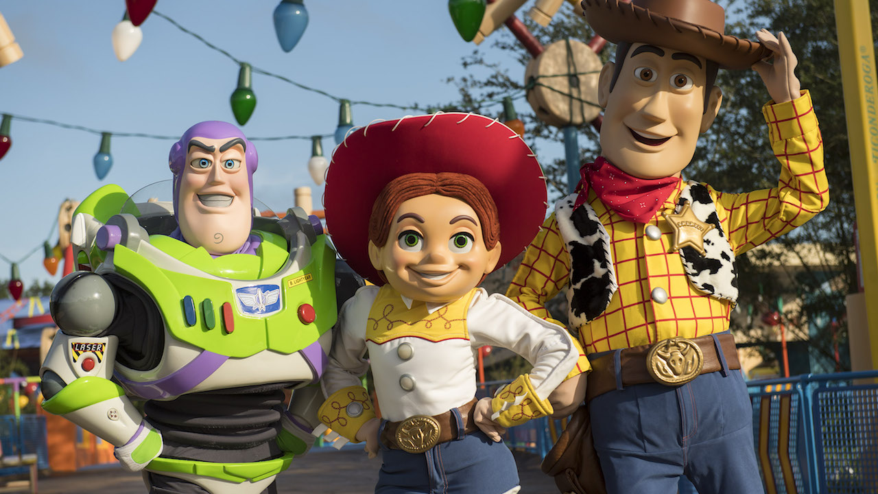 Pixar Characters Will Greet Guests In Toy Story Land At