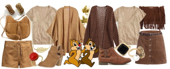 DisneyBound as Chip 'n' Dale