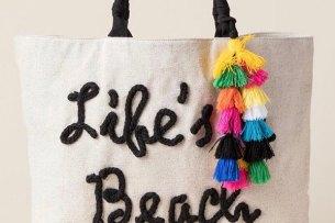 Beach bag, at Francesca's, Disney Springs