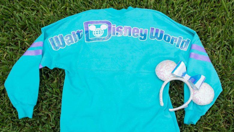 Iridescent Walt Disney World Spirit Jersey and Minnie Mouse Iridescent Ear Headband from World of Disney (Disney Springs Marketplace)