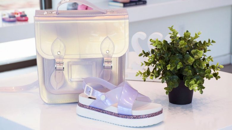Iridescent Bag and Sandals from Melissa Shoes (Disney Springs Town Center)