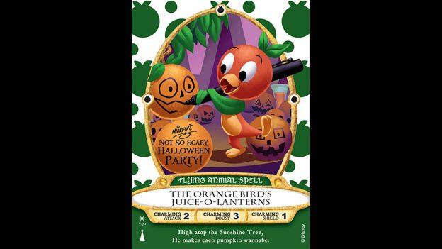 Orange Bird Sorcerers of the Magic Kingdom Card