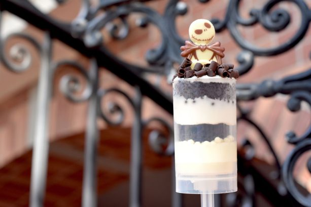 Jack Skellington Cake Push Pop at Sleep Hollow for Mickey's Not-So-Scary Halloween Party at Magic Kingdom Park
