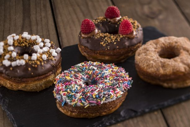 Croissant Doughnuts at Taste Track for the Epcot International Food & Wine Festival