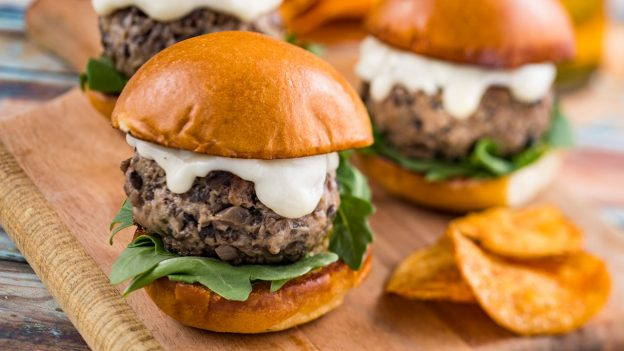 The Steakhouse Blended Burger at the Earth Eats Marketplace for the Epcot International Food & Wine Festival
