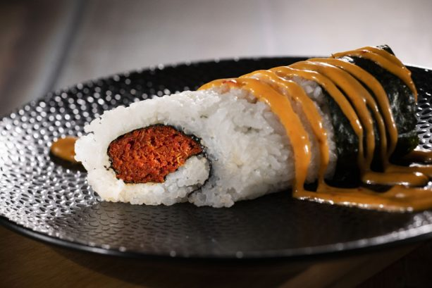 Spicy Roll at the Japan Marketplace for the Epcot International Food & Wine Festival