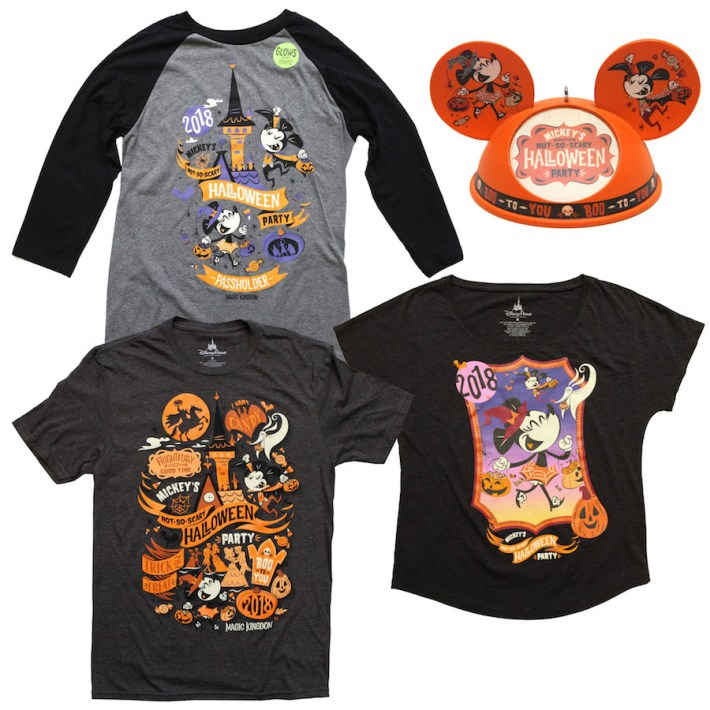 Mickey's Not-So-Scary Halloween Party Shits and Ornament