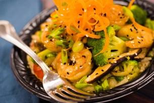 Shrimp Teriyaki Bowl at ABC Commissary at Disney's Hollywood Studios