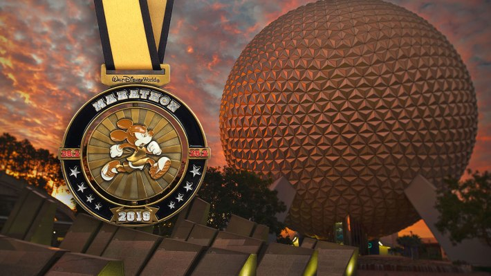 2018 Walt Disney World Marathon Finisher Medal