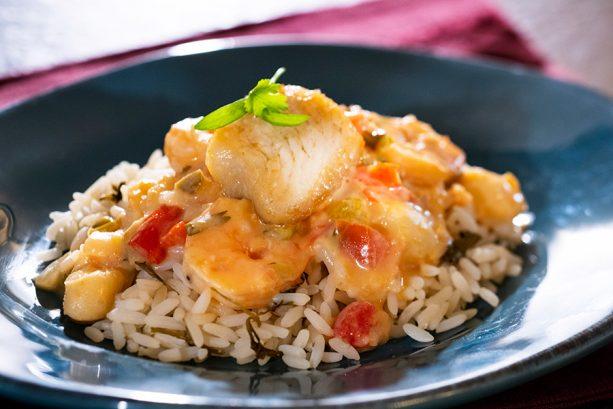 Moqueca, a seafood stew