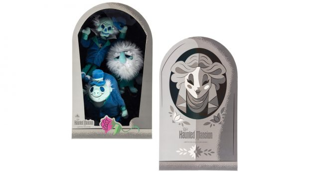 Limited-Release Haunted Mansion Hitchhiking Ghost Plush Set
