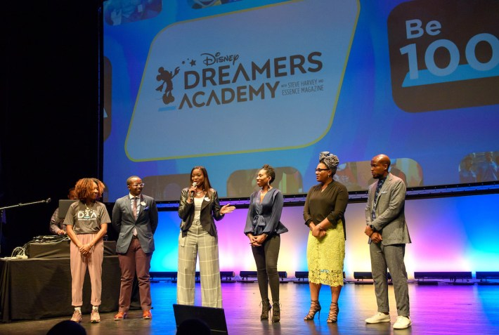 Disney Dreamers Academy held its '100 Minutes to Empower Your Dreams' seminar Thursday, Sept. 27, at the Schomburg Center in Harlem, New York