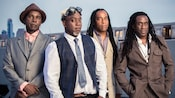 The 4 person fusion rock band Living Colour