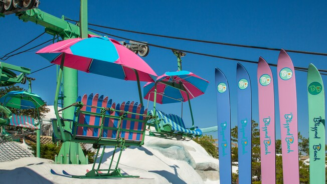 Chair Lift  Blizzard Beach Attractions  Walt Disney
