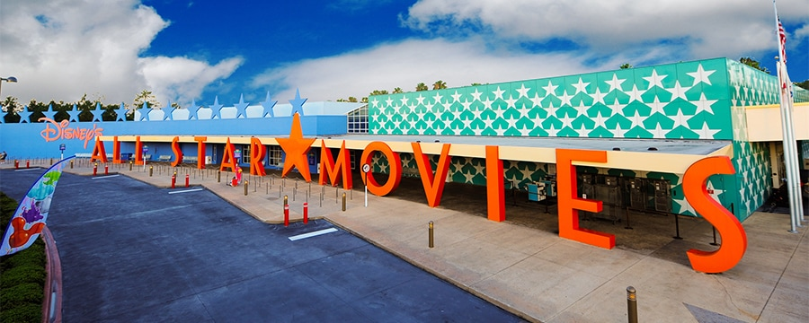 Entrance to Disney's All-Star Movies Resort
