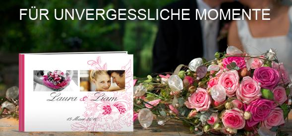 Hochzeitsbuch selbst gestalten  PhotoBox