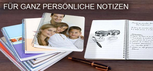 Notizhefte und Notizbcher mit eigenem Foto  PhotoBox