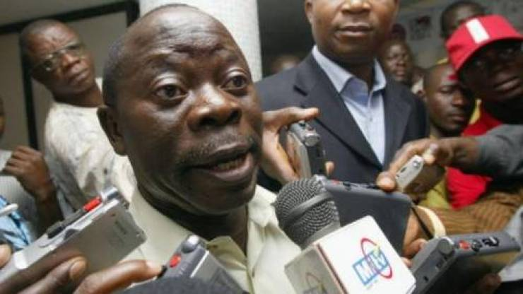 Image result for Oshiomhole journalists