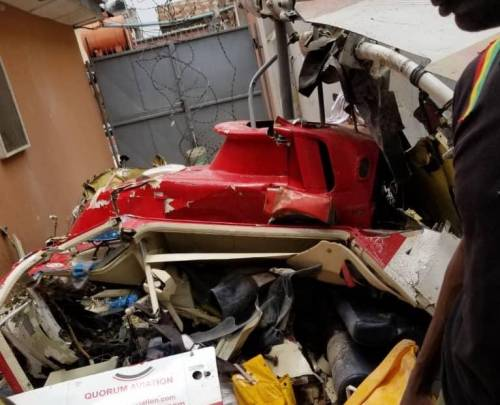 Third Person Onboard Lagos Crashed Helicopter Has Been Confirmed Dead 2