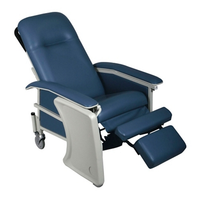 medical recliner chairs parson chair covers etsy patient recliners national business furniture mobile with adjustable headrest 26062