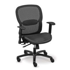 Big And Tall Office Chairs Super Comfy Chair Shop Heavy Duty Nbf Com Linear Collection All Mesh 56948