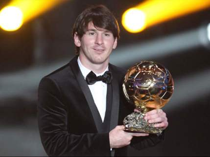 Image result for messi ballon d'or 2010
