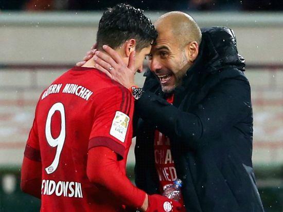 Lewandowski: Pep Guardiola, Bayern Münih'e her şeyini verdi   Goal.com