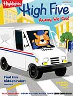 Highlights High Five Magazine | Kids Magazine Subscription Discount