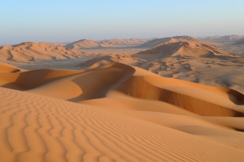 The empty quarter experience
