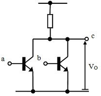 Theory of TTL Logic Gate Series