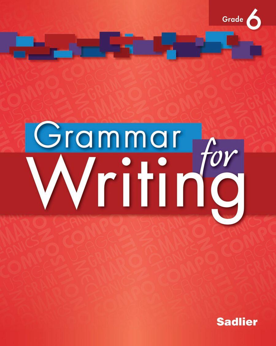 Grammar for Writing [ 1126 x 900 Pixel ]