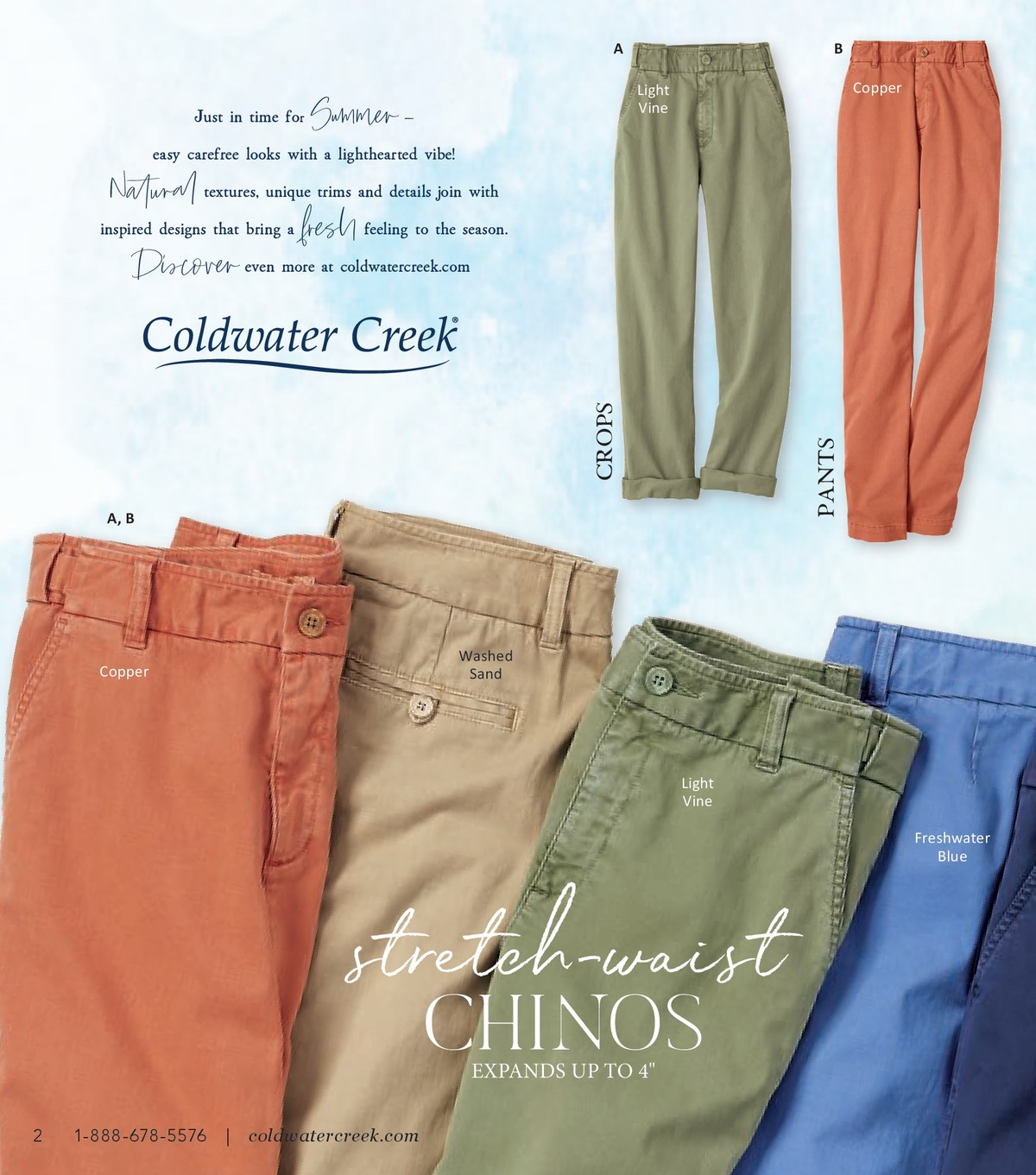 Coldwater Creek Catalog Phone Number