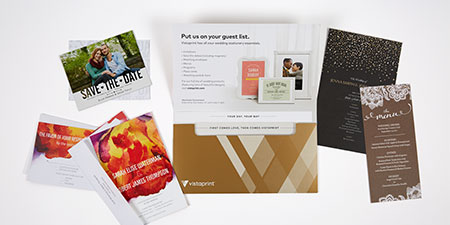 FREE Sample Kits from Vistaprint for Weddings or Businesses - My ...