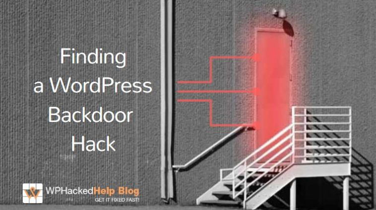 How To Find & Fix WordPress Backdoor Hack