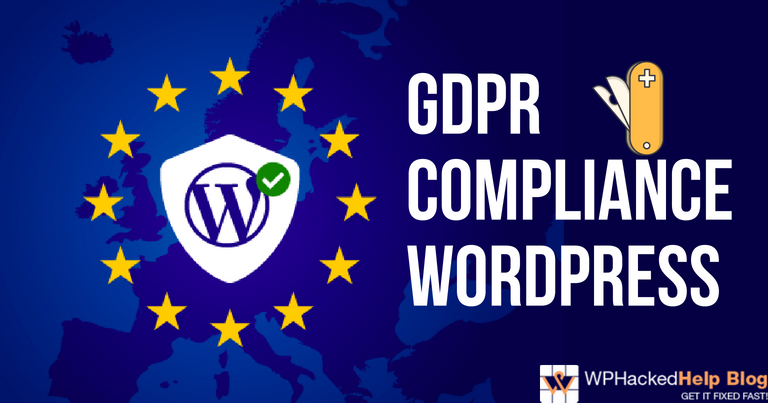 WordPress GDPR Compliance Guide 2019 + Plugins