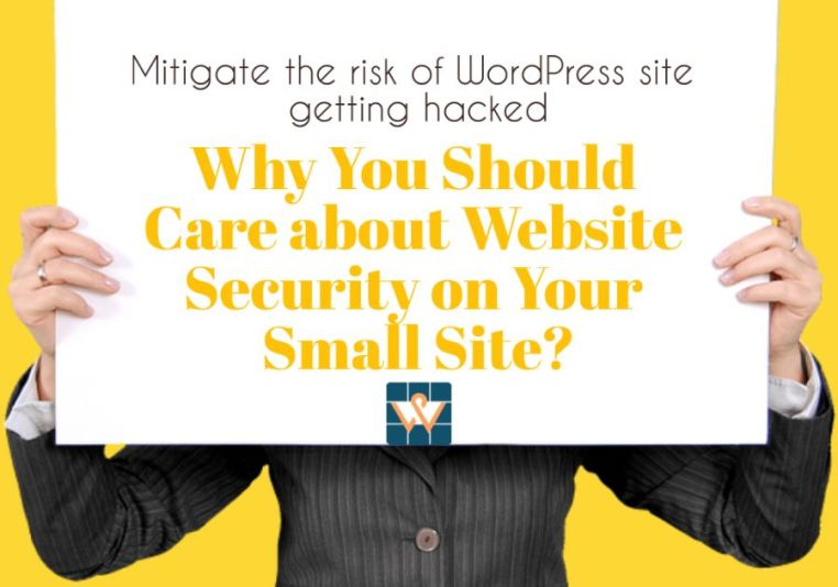 small website security tips wordpress