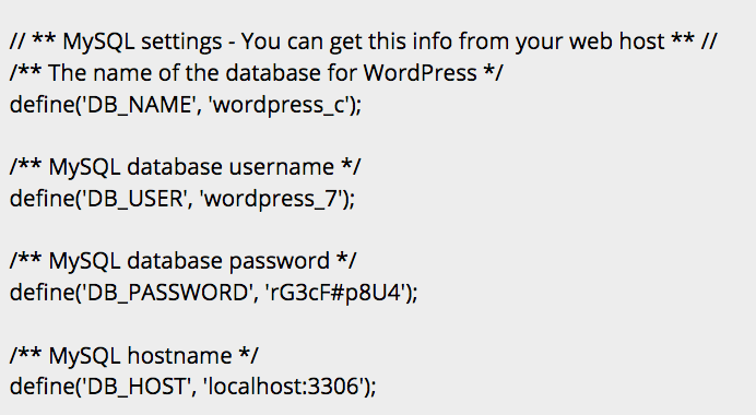 Change all passwords associated with your WordPress